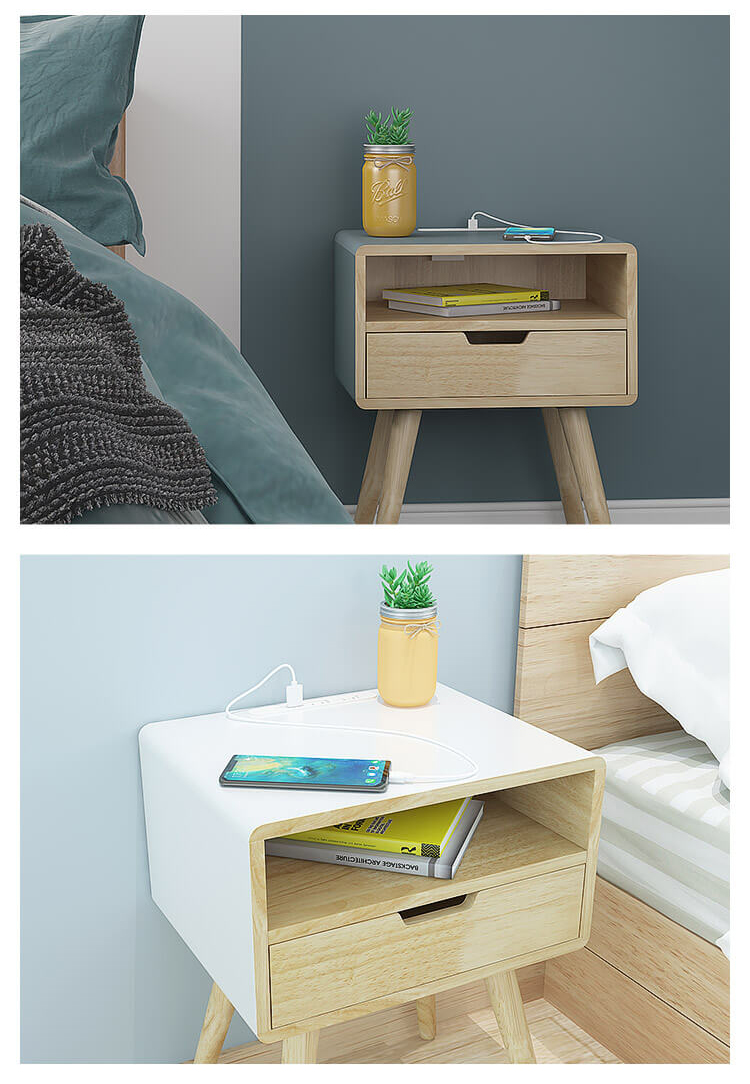 Square Pro – Smart Bedside Table With Wireless Charging Details